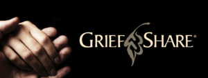 Grief Share Logo with two hands holding each other.